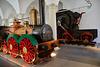 Dresden 2019 – Verkehrsmuseum – Replica of the first German steam locomotive Saxonia