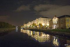 Glasgow by night, Speirs Wharf
