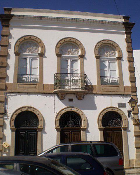 Typical façade.