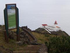 Gonçalo Velho Lighthouse, at Castelo Point.