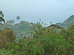 Weite Sicht vor dem Abstieg nach Portela