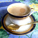 Kaffee in schöner Tasse