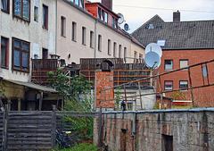 Hildesheimer Hinterhof