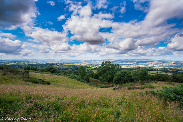 Amazing Cloud day on Brown Clee 1