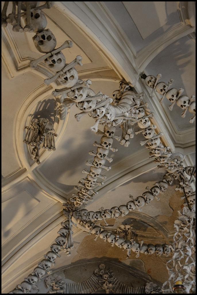 Spine of skulls