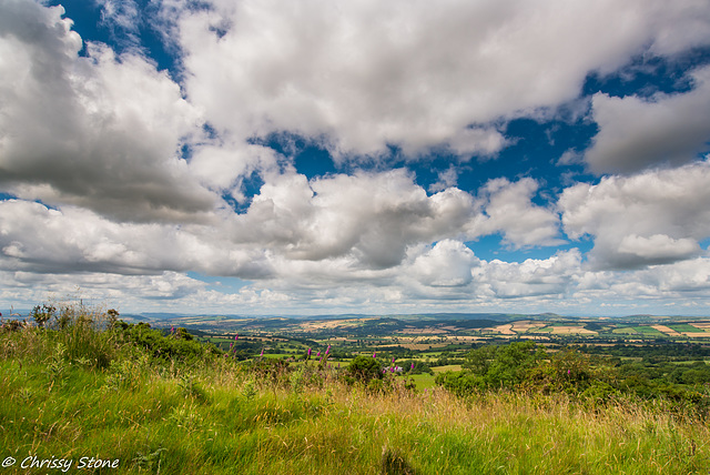 Amazing Cloud day on Brown Clee 2