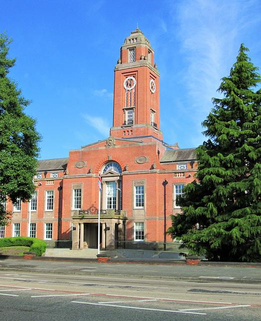 Trafford town hall, Talbot road.