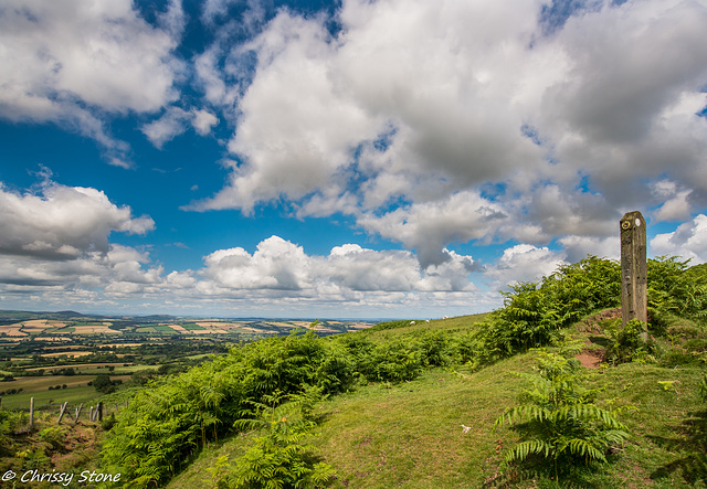 Amazing Cloud day on Brown Clee 3
