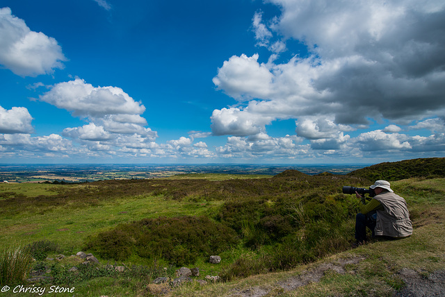 Amazing Cloud day on Brown Clee 4