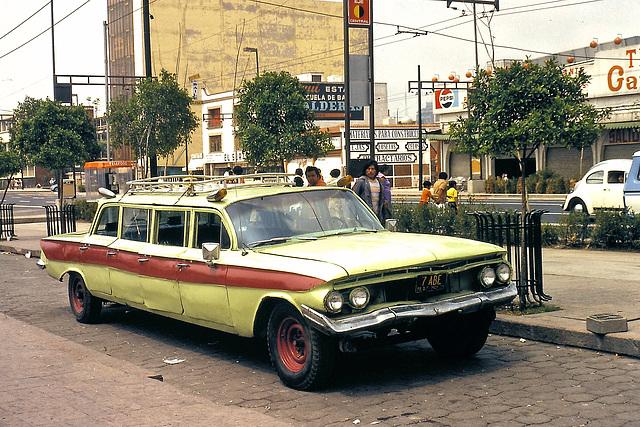 Mexico (MEX) Juillet 1979. (Diapositive numérisée).