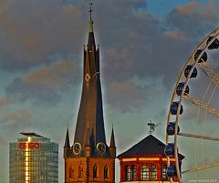 Düsseldorf - Egal in welcher Zeit, der Mensch will immer hoch hinaus...