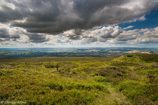 Amazing Cloud day on Brown Clee 5