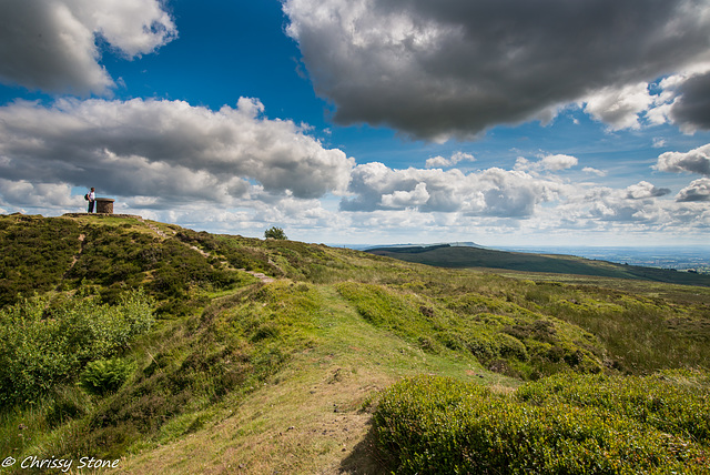 Amazing Cloud day on Brown Clee 6