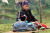 Scène quotidienne dans le Langtang (Népal)