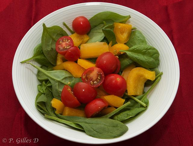 Une petite salade!