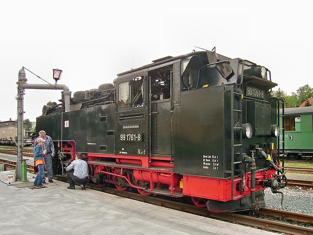 99 1761-8 am Wasserkran in Dippoldiswalde