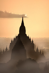 Morgen in Bagan