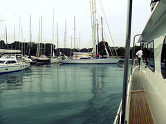 Yacht harbor, Rushcutters Bay