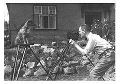 Percy Pritchard with Deutch