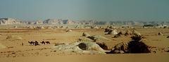 Le désert Blanc -White desert of Egypt