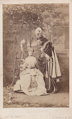 Adelina Patti and Giovanni Mario by Caldesi