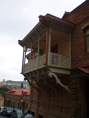 Georgian balcony.