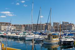 Im alten Hafen von Marseille