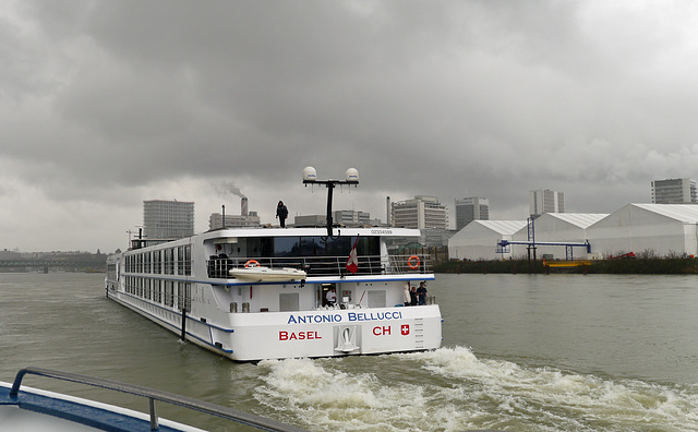 Bellucci nimmt Fahrt auf in Basel Richtung Strassburg
