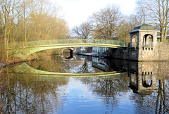 HFF: Die Hayns-Park-Brücke (4xPiP)