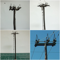HO Scaled Georgia Power Styled Grasshopper Switch