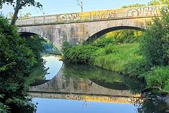 Mühlenteich-Brücke (4xPiP)