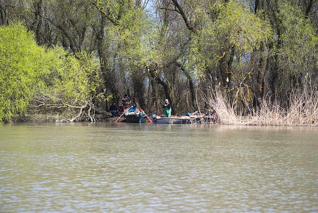 Die Fischer an Jermakiw-Insel