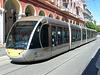 Lignes d-Azur Tram No. 14 at Masséna - 20 April 2017