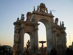 Fountain of the Giant (or Fountain of Immacolatella).