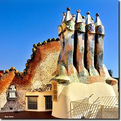 Casa Batlló - Xemeneies - BCN