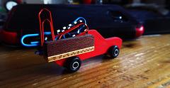 Lastwagen = ein Wagen mit Last  (3x PiP)