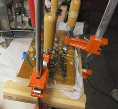 Pressing plastic