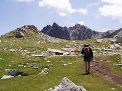 Dans les Encantats, Pyrénées (Espagne)