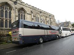 Hodge's Coaches 5881 PH in Bury St. Edmunds - 23 Nov 2019 (P1060038)