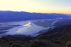 Sunset over Badwater