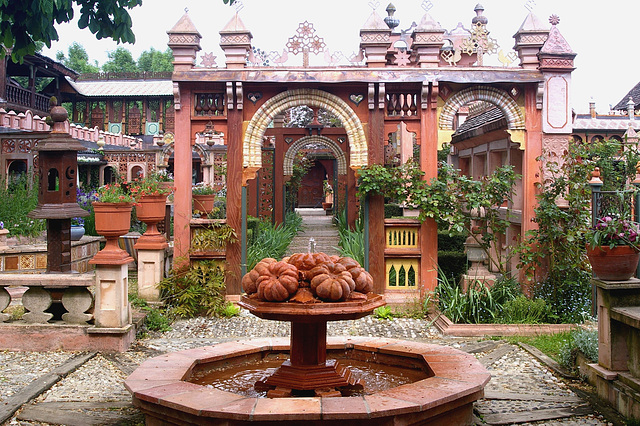 Une fontaine !