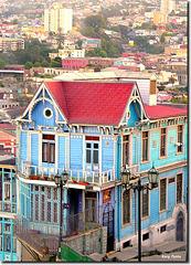 """""""Casa Cuatro Vientos"""" - Valparaíso - Chile"""