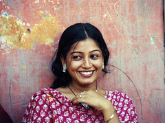 Indian Woman Smile