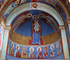 Apse: Mary, Child, Archangels and Apostles