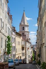 Montée des Accoules mit Blick auf Eglise des Accoules