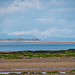 Talacre lighthouse and the coast of Wales