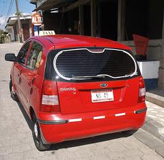 Taxi Kia Morning  (Nicaragua)