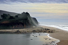 The Rising of the Mist – San Gregorio Beach State Park, San Mateo County, California
