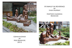 Family in residence by Ivan Murray - Bankside - London - 2.2.2018