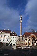 HU - Györ - Column of St. Mary